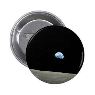 Earthrise 2 Inch Round Button