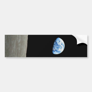 Earthrise Bumper Sticker