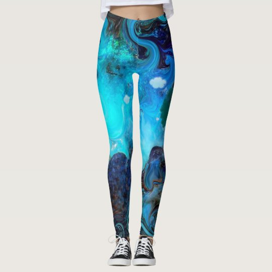 Earth's Ascension. Leggings