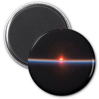 Earth's Horizon 2 Inch Round Magnet