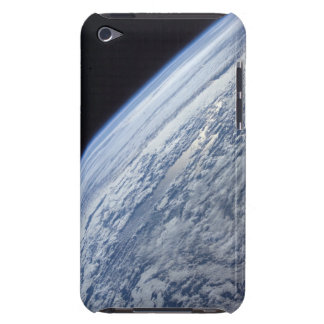 Earth's horizon against the blackness of space barely there iPod cases