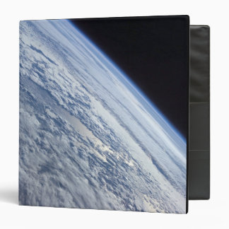 Earth's horizon against the blackness of space vinyl binders
