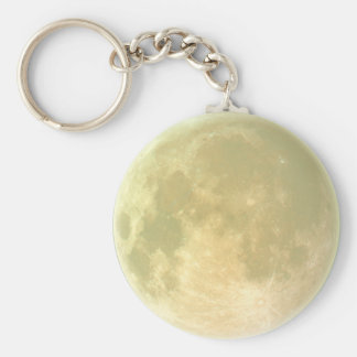 Earth's Moon Zipper-Pull & Luggage Tag, Keychain