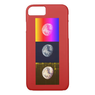 Earths / Red iPhone 8/7 Case