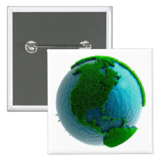Earth's rotation causes the movement of the time 2 inch square button