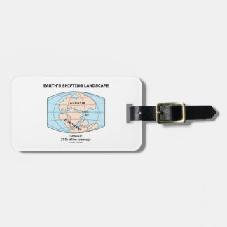 Earth's Shifting Landscape (Triassic) Bag Tag