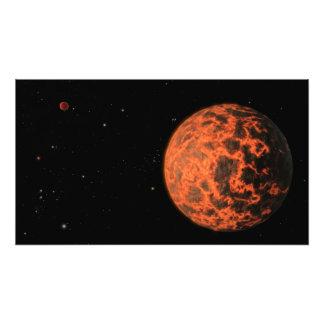 Earth's surface as magma ocean photo print
