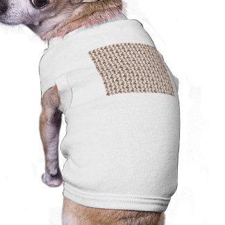 Earthtone Colored Perfume Bottles Dog Tee Shirt