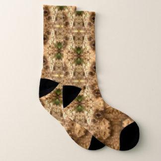 Earthtone Kaleidoscope Lrg Socks