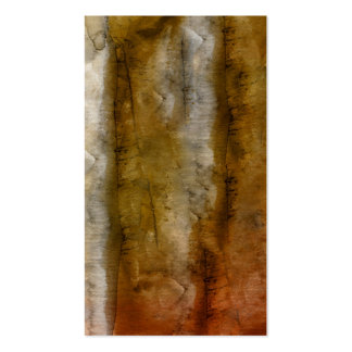 Earthtone Watercolor - Brown Warm Earth Tones Pack Of Standard Business Cards