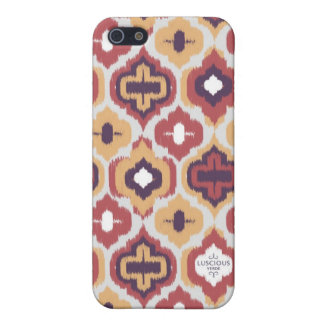 Earthtones Ikat iPhone Cover Cover For iPhone 5/5S