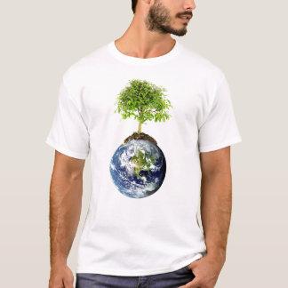 EarthTree w/ E.O. Wilson Quote on Back T-Shirt