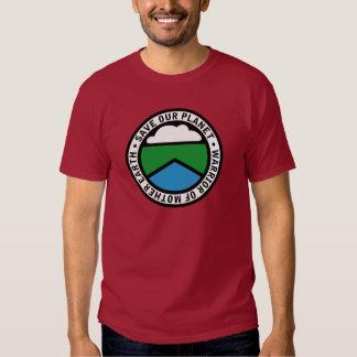 Earthwarriorblue2 Tshirts