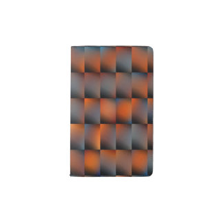 Earthy Abstract Pocket Moleskine Notebook