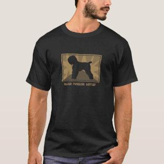 Earthy Black Russian Terrier T-Shirt