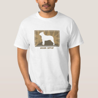 Earthy Boston Terrier TShirt