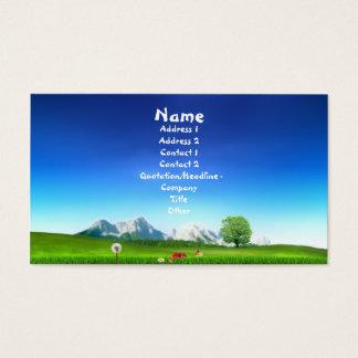 Earthy Business Card