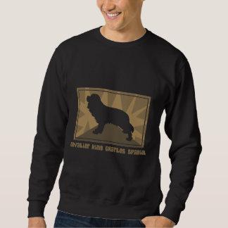 Earthy Cavalier King Charles Spaniel Sweatshirt