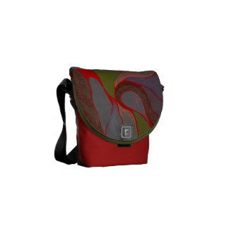 Earthy Elements Splash Bag Courier Bag