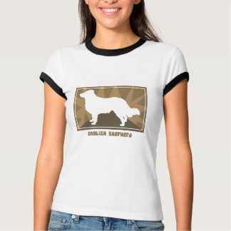 Earthy English Shepherd Ladies TShirt