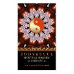 Earthy Fresh Healing YinYang Yoga Business Cards Business Card Templates
