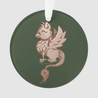 Earthy Griffin Ornament