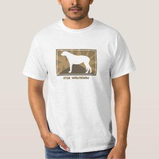 Earthy Irish Wolfhound TShirt