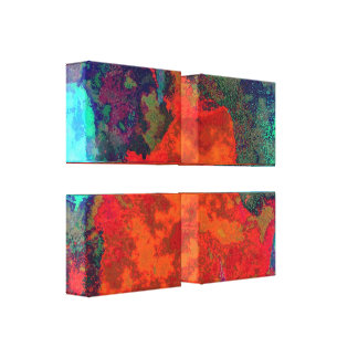Earthy Metals Stretched Canvas Prints