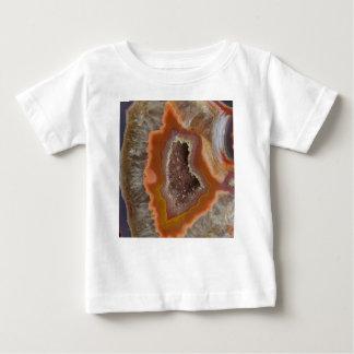 Earthy Quartz Crystal Druzy Baby T-Shirt