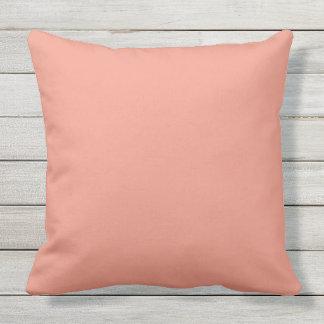 Earthy Terracotta Reddish Brown Summer Garden Outdoor Pillow