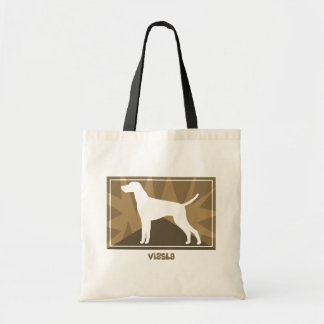 Earthy Vizsla Tote Bag
