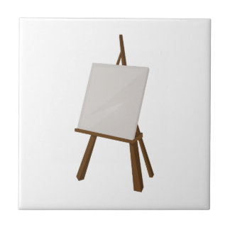 Easel Painting Tile