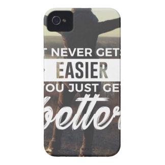 Easier Stronger Better iPhone 4 Case