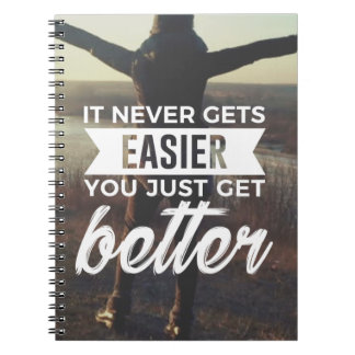 Easier Stronger Better Notebook
