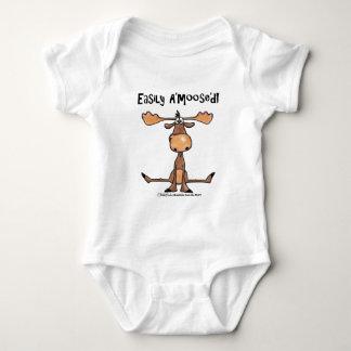 "Easily A'Moose""d Baby Bodysuit"