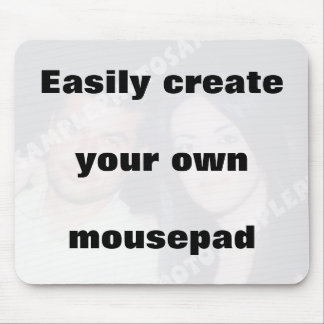 Easily create your mousepad Remove the big text!