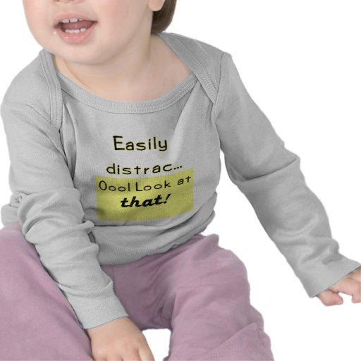 Easily Distracted Tee Shirts