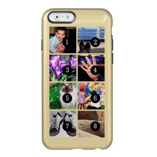 Easily Make Your Own Photo Display with 8 photos Incipio Feather® Shine iPhone 6 Case