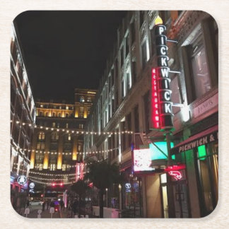 East 4th Street, Cleveland, Ohio Photo Coaster