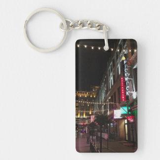 East 4th Street, Cleveland, Ohio Photo Key Chain