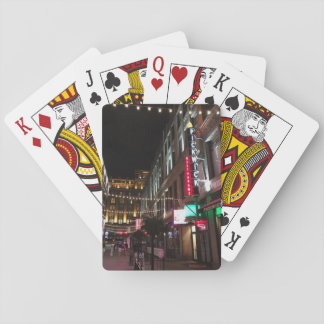 East 4th Street, Cleveland, Ohio Playing Cards