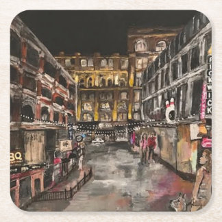 """East 4th Street Moment"" Cleveland, Ohio Coasters"