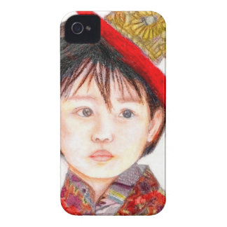 East Asian Child iPhone 4 Case-Mate Case