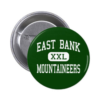 East Bank - Mountaineers - Junior - East Bank 2 Inch Round Button