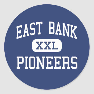 East Bank Pioneers Middle East Bank Round Sticker