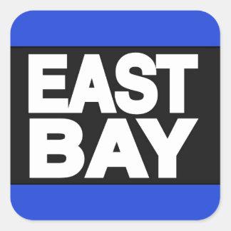 East Bay 2 Blue Square Sticker