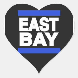East Bay Blue Heart Sticker