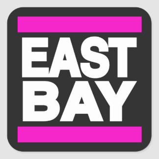 East Bay Pink Square Sticker