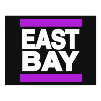 East Bay Purple Postcard