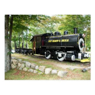 East Branch & Lincoln Train New Hampshire Postcard
